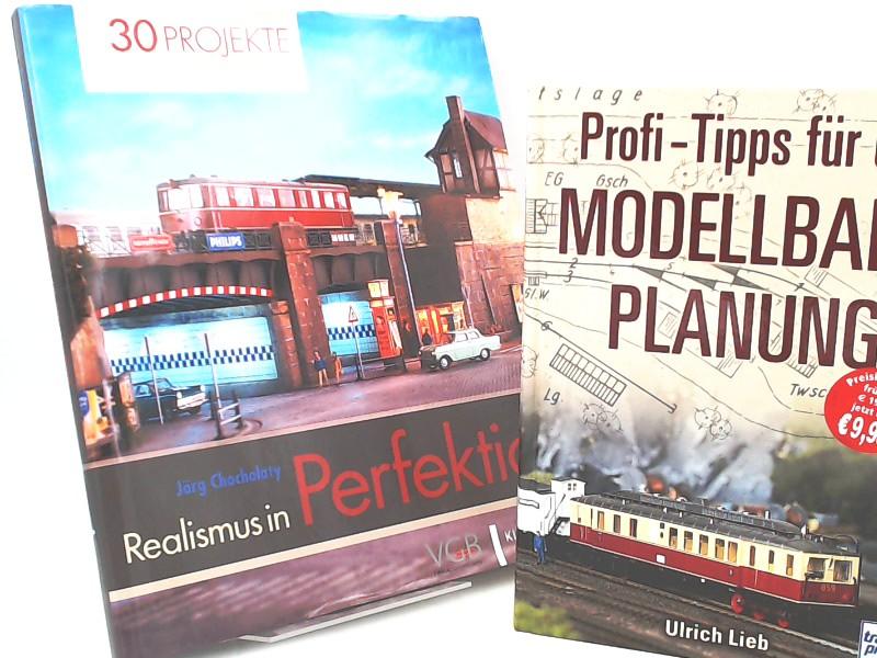 Chocholaty, Jörg (Verfasser + Fotograf): 1 Buch 1 ZUGABE: Realismus in Perfektion. 30 Projekte: Eisenbahn-Modellbau. ZUGABE: Profi-Tipps für die Modellbahn-Planung.