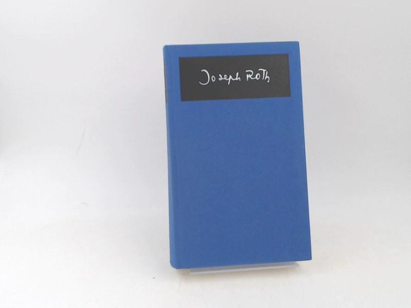 Roth, Joseph: Joseph Roth Werke 3: Das journalistische Werk 1929-1939. Herausgegeben mit einem Nachwort von Klaus Westermann. [Joseph Roth Werke. Dritter Band]