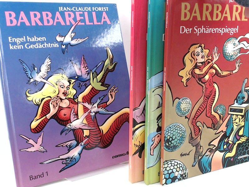 Forest, Jean-Claude: Barbarella - vollständig Band 1 bis 4 zusammen: 1: Engel haben kein Gedächtnis; 2: Der Minutenfresser; 3: Das achte Weltwunder; 4: Der Sphärenspiegel. [Edition ComicArt]