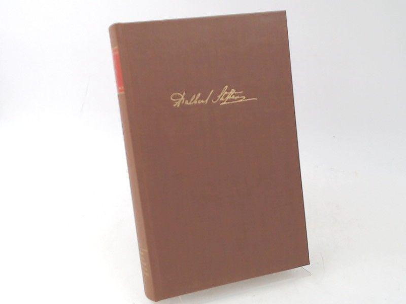Stifter, Adalbert und Konrad Steffen (Hg.): Adalbert Stifter. Gesammelte Werke in vierzehn Bänden. Erster Band. Studien I. [Birkhäuser Klassiker]