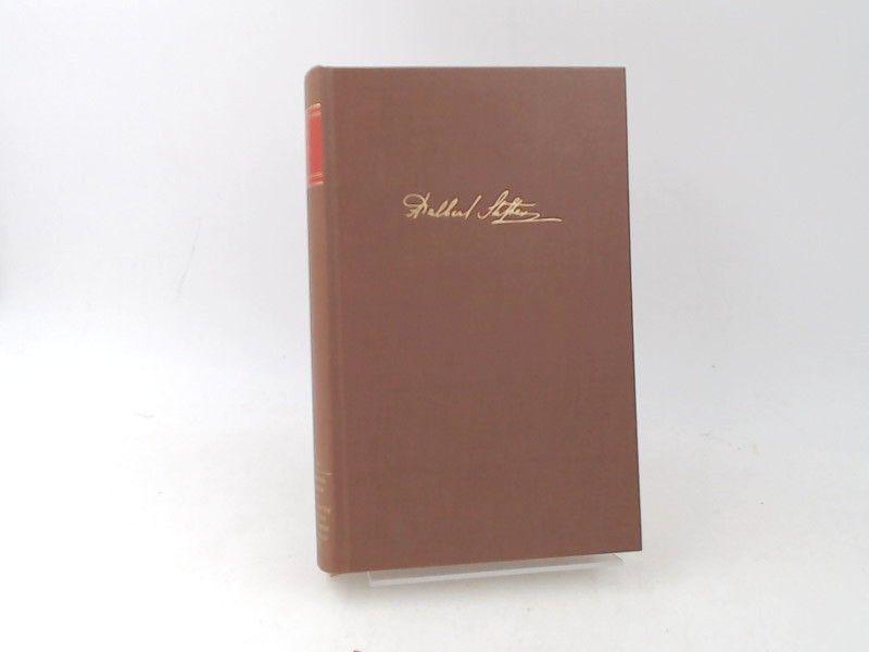 Stifter, Adalbert und Konrad Steffen (Hg.): Adalbert Stifter. Gesammelte Werke in vierzehn Bänden. Dritter Band. Studien. [Birkhäuser Klassiker]