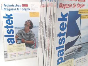 Palstek. Technisches Magazin für Segler (Technisches Wassersport-Journal). Praxis für Bootseigner - Konvolut aus 10 Heften. Vorhandene Ausgaben: 1) Nr. 1/2007; 2) 1/2006; 3) 2/2006; 4) 3/2006; 5) 6/2006; 6) 1/2005; 7) 5/2005; 8) 6/2005; 9) 3/2003; 10) ...