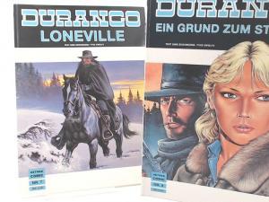 Swolfs, Yves (Text und Zeichnungen): Durango - zwei Bände zusammen: Nr. 7: Loneville; Nr. 8: Ein Grund zum Sterben.