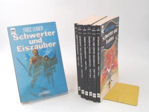 Leiber, Fritz und Wolfgang Jeschke (Hg.): Fritz Leiber bei Heyne Fantasy - sieben Bücher zusammen: 1) Schwerter und Eiszauber; 2) Schwerter und Teufelei; 3) Schwerter gegen den Tod; 4) Schwerter gegen Zauberei; 5) Schwerter im Nebel; 6) Die Schwerter v...