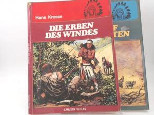Kresse, Hans: 2 Hefte zusammen - 1) Die Erben des Windes; 2) Der Ruf der Koyoten.