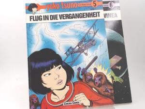 Leloup, Roger: 2 Hefte zusammen - Yoko Tsuno. Band 5: Flug in die Vergangenheit; Band 6: Die dritte Sonne von Vinea