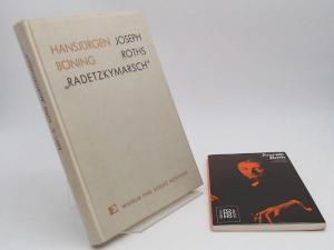 """Böning, Hansjürgen: 1 Buch 1 Zugabe: Joseph Roths """"Radetzkymarsch"""". Thematik. Struktur. Sprache."""