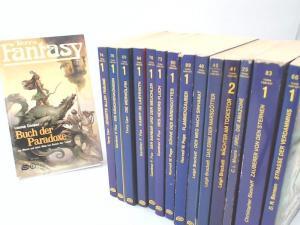 Fox, Gardner F., Norvell W. Page; Leigh Brackett; C. L. Moore; Christopher Stasheff; D. R. Bensen; Louise Cooper und Terry Carr; (Herausgeber): Terra Fantasy - 15 Bücher zusammen: 1) Jenseits aller Träume; 2) Die Dämonenkönigin; 3) Die Werwölfin; 4) Ka...