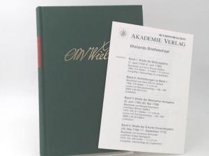 Wieland, Christoph Martin und Waltraud Hagen (Bearb.): Wielands Briefwechsel. Siebenter Band (Januar 1778 - Juni 1782). Erster Teil: Text. [Wielands Briefwechsel]