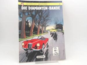 Charlier, Jean-Michel (Text) und Jijé (Gillain) (Zeichnungen): Valhardi & Co, Abenteurer. Band 5. Die Diamanten-Bande.