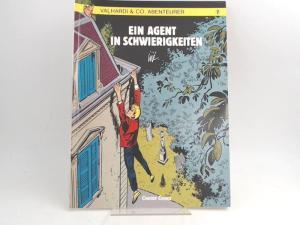 Jijé (Gillain) (Text und Zeichnungen): Valhardi & Co, Abenteurer. Band 7. Ein Agent in Schwierigkeiten. [Carlsen Comics]