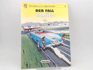 Jijé (Gillain) (Text und Zeichnungen): Valhardi & Co, Abenteurer. Band 6. Der Fall Barnes. [Carlsen Comics]