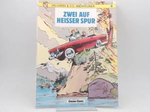 Jijé (Victor Gillain) (Text und Zeichnungen): Valhardi & Co, Abenteurer. Band 9. Zwei auf heisser Spur. [Carlsen Comics]