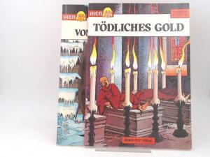 Martin, Jacques und Jean Pleyers: 2 Bände zusammen - Jhen: Band 1) Tödliches Gold; Band 2) Johanna von Frankreich.