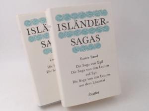 Heller, Rolf (Hg.): 2 Bücher zusammen - Isländer-Sagas. Erster und zweiter Band.