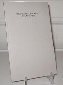 Hackelsberger, N. Luise (Hrsg.): Werner Bergengruen in München. Jahresgabe 2001 der Werner Bergengruen-Gesellschaft.