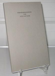 Kroll, Frank-Lothar: Werner Bergengruen und Otto von Taube. Jahresgabe 1999 der Werner-Bergengruen-Gesellschaft.