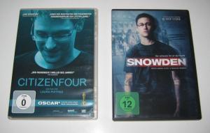 Stone, Oliver und Laura Poitras: 2 DVDs: Snowden. Der sicherste Ort ist die Flucht. / Citizen Four.