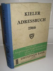 Schmidt & Klaunig (Hrsg.): Kieler Adressbuch 1966. Mit der Gemeinde Kronshagen. Nach amtlichen und eigenen Unterlagen zusammengestellt.