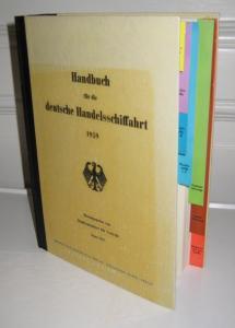 Bundesminister für Verkehr (Hrsg.): Handbuch für die deutsche Handelsschiffahrt 1959. Hrsg. vom Bundesminister für Verkehr, Bonn.