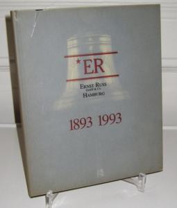 Kloevekorn, Manfred und Robert Lorenz-Meyer: ER - Ernst Russ GmbH & Co., Hamburg. 1893 - 1993. Deutsch - Englisch. Aus Anlass des 100jährigen Firmenjubiläums.