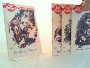 Elling, Mark: Bob Hunter auf Indianerpfaden - vier Bände zusammen: Band 9: Das Mingonest am Susquehanna; Band 10: Die schwarze Amazone; Band 16: Das Lied der Wüste; Band 34: Der Semiolenkrieg.