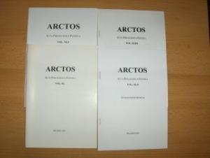 Solin, Heikki: KONVOLUT v. 4 HEFTE : ARCTOS (z. Teil mit EPIGRAPHIK - HEIKKI SOLIN als AUTOR) *. Sonderdruck - Separatim Expressum - ACTA PHILOLOGICA FENNICA - VOL. XL - VOL. XLI - VOL. XLII - VOL. XLIII.