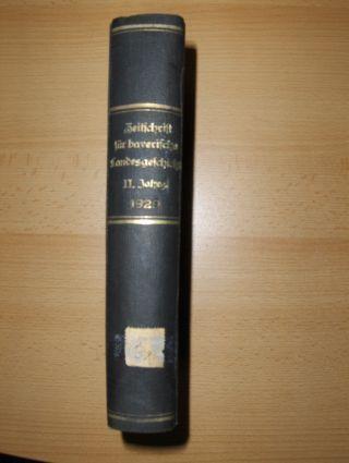 Riedner (Schriftleitung), Otto: Zeitschrift für bayerische Landesgeschichte. Zweiter Jahrgang (II.-1929) *. Herausgegeben ...bei der Bayer. Akademie der Wissenschaften in Verbindung mit der Gesellschaft für fränkische Geschichte.