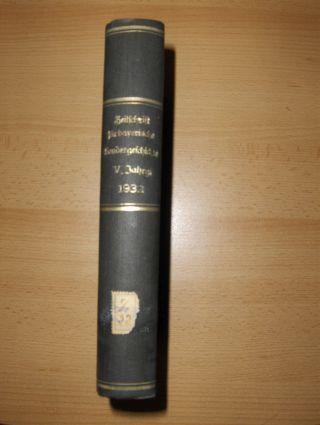 Riedner (Schriftleitung), Otto: Zeitschrift für bayerische Landesgeschichte. Fünfter Jahrgang (V.-1932) *. Herausgegeben ...bei der Bayer. Akademie der Wissenschaften in Verbindung mit der Gesellschaft für fränkische Geschichte.