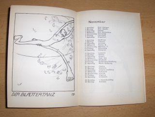 Probst (Lyrik), Hans, W. Rademacher Maximilian Brantl u. a.: Kalender für 1908 herausgegeben vom Akademischen Gesangverein München.