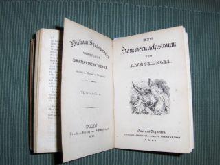 Shakespeare, William: Viel Lärmens um Nichts von G.W. Kessler / Ein Sommernachtstraum von A.W. Schlegel / König Lear von H. Voss *.