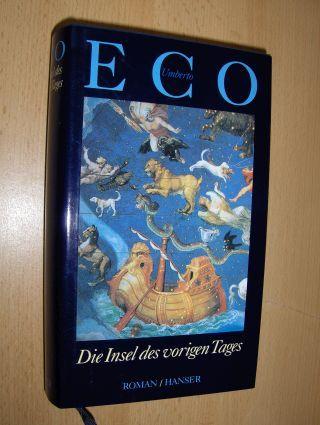 Eco, Umberto: Die Insel des vorigen Tages. Roman.