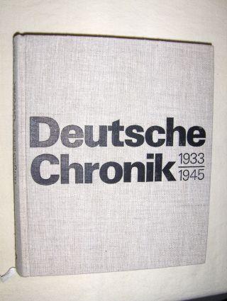 Bergschicker, Heinz: Deutsche Chronik 1933-1945. Alltag in Faschismus. Wissenschaftliche Beratung : Prof. Dr. sc. Olaf Groehler.