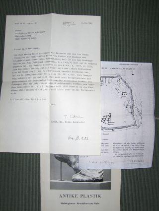 Eckstein (Bearbeitet) *, Felix und Herbert Beck: ANTIKE PLASTIK - Liebighaus. Frankfurt am Main. + AUTOGRAPH *.