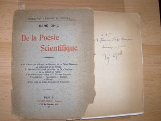 Ghil *, Rene: De la Poesie Scientifique.