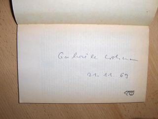 Wohmann *, Gabriele: Abschied für länger.