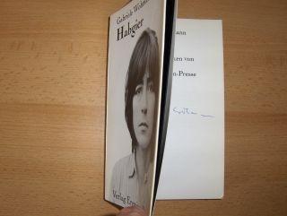 Wohmann *, Gabriele: Habgier. + AUTOGRAPH *. Erzählungen. Mit Originalgraphiken von Pierre Kröger.