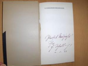 Schallinger *, Hans: Begegnungen. Erzählungen und Feuilletons. (Die Linzer Bücherei Herausgegeben vom Kulturamt der Stadt Linz Band 12).