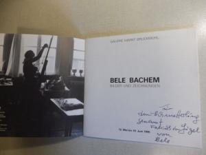 Ostheeren, Ingrid und Galerie Markt Bruckmühl: BELE BACHEM - BILDER UND ZEICHNUNGEN. + AUTOGRAPH.