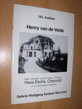 Dry V Zezschwitz Beate Und Alfred Lindner Henry Van De Velde