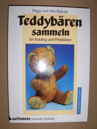 Bialosky, Peggy u. Alan: Teddybären sammeln. Ein Katalog und Preisführer. Aus dem Englischen übertragen von Florentine C.Wagner.