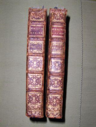 OVIDE / OVID: NOUVELLE TRADUCTION DES METAMORPHOSES D` OVIDE Par M. Fontanelle. 2 Bände (2 Tomes ou Volumes). Komplett.