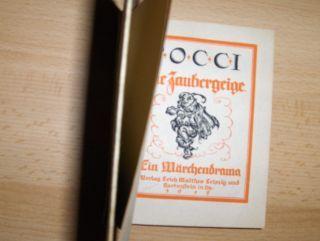 Pocci, Franz v.: Die Zaubergeige - Ein Märchendrama.