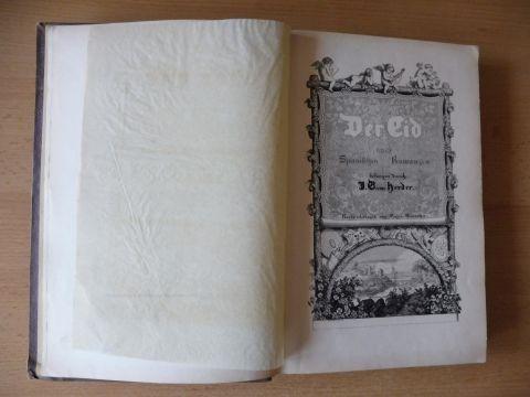 Herder, Johann Gottfried von: Der Cid * nach spanischen Romanzen besungen durch Johann Gottfried von Herder mit Randzeichnungen von Eugen Neureuther.