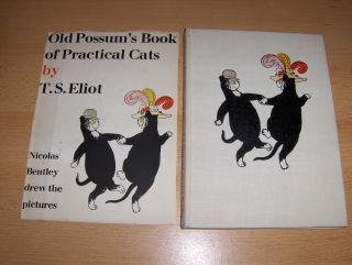 Eliot, T.S. and Nicolas Bentley (Illustr.): OLD POSSUM`S BOOK OF PRATICAL CATS by T.S. ELIOT. Nicolas Bentley drew the pictures.