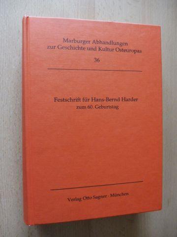 Harer (Hrsg.), Klaus und Helmut Schaller (Hrsg.): Festschrift für Hans-Bernd Harder zum 60. Geburtstag *. Mit 36 Beiträge (auch Griechisch, Russisch, Englisch...).