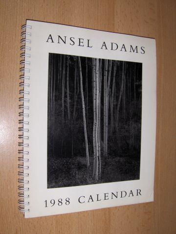 Adams *, Ansel Easton: ANSEL ADAMS Engagement CALENDAR 1988.