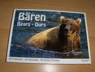 Pott (Fotograf), Eckart und Gerhard Schulz (Fotogr.): Bären - Bears - Ours *. 30 Postkarten (Fotos) . 30 Postcards . 30 Cartes Postales.