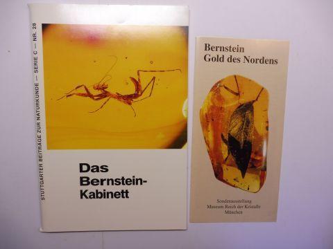 Schlee, Dieter: Das Bernstein-Kabinett - Begleitheft zur Bernsteinausstellung im Museum am Löwentor, Stuttgart. Stuttgarter Beiträge zur Naturkunde - Serie C, Heft 28.