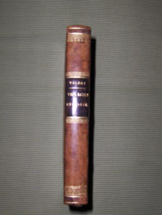 Valery *, M.: Voyages Historiques et Litteraires en Italie, pendant les annees 1826, 1827 et 1828; ou l' Indicateur Italien. Tome Troisieme.